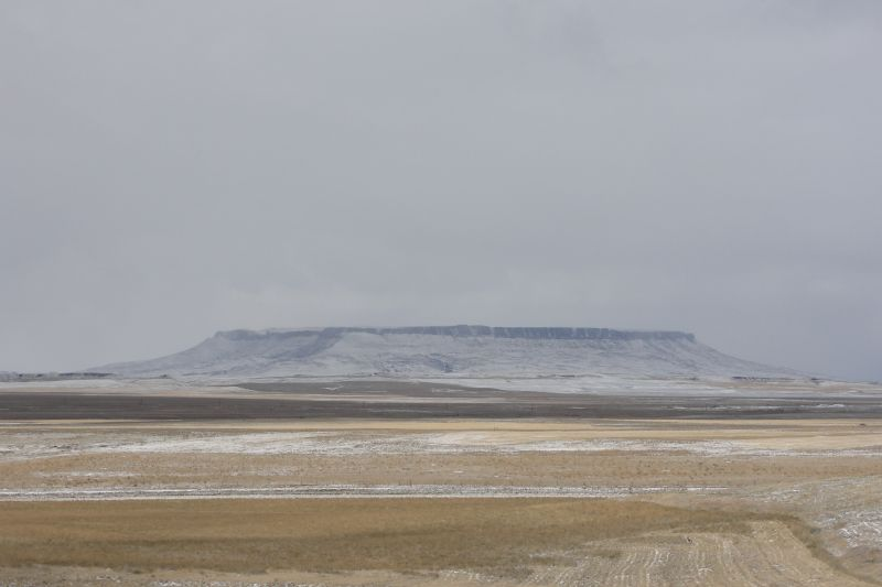Typical Butte in the Prairie