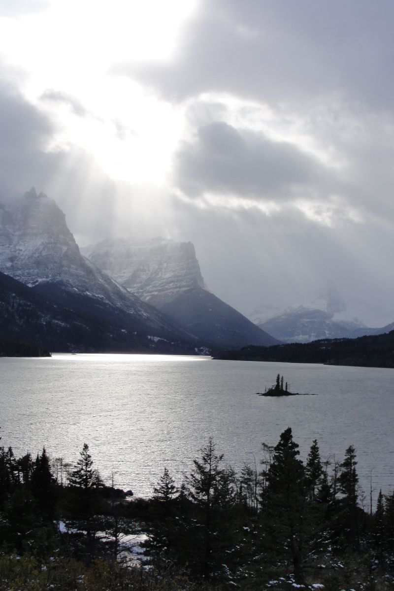 The Rockies: St.Mary's Lake