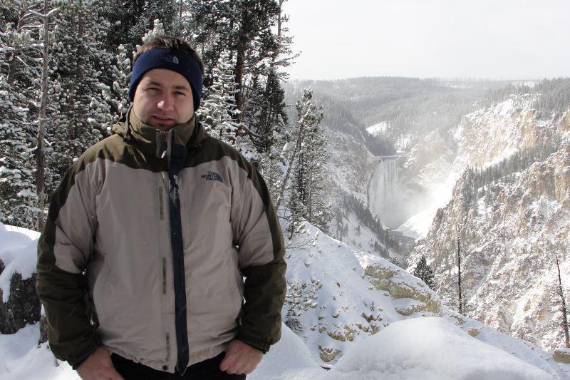 Yellowstone Canyon & me